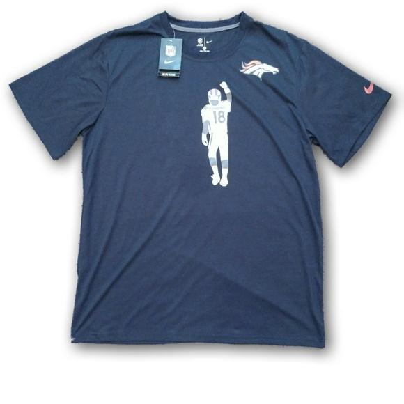 1b073f520 Nike Denver Broncos Peyton Manning Tee NWT